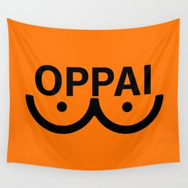 oppai Wall Tapestry