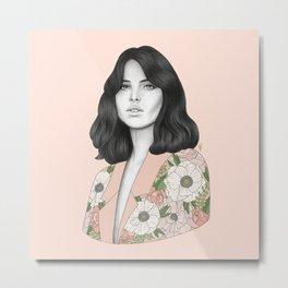 Felicity Metal Print