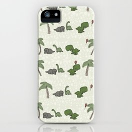 The Dinosaurs Are Alright iPhone Case