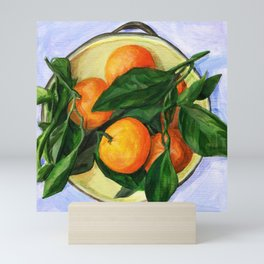 Mandarin Oranges Mini Art Print