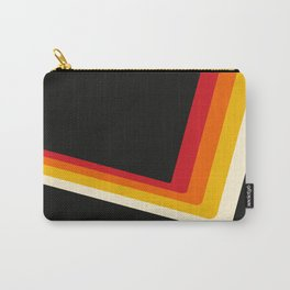 70s Bouncing Stripe Carry-All Pouch