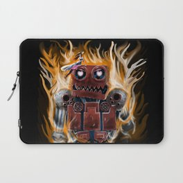 The Lady and The Robot Laptop Sleeve
