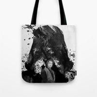 starwars Tote Bags featuring StarWars by M.M.Prod
