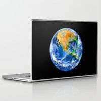 earth Laptop & iPad Skins featuring Earth by Head Rubble