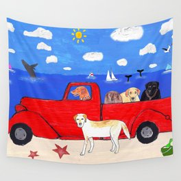 The Salty Dogs Wall Tapestry