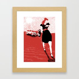 Canicola Framed Art Print