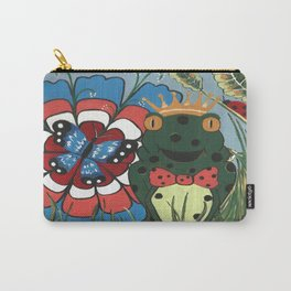 Frog Prince And His Kingdom Carry-All Pouch