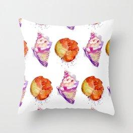 Sea ornament Throw Pillow