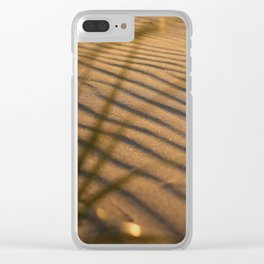 SAND DUNE WHISPERS IN COLOR Clear iPhone Case