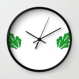 Farm and Country Farm Fresh Wall Clock