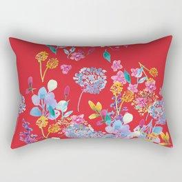 Fridas Flowers Rectangular Pillow