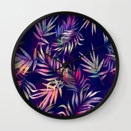 Tropical Infusion Wall Clock