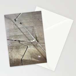 basement pipes Stationery Cards