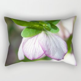 Lenten Rose Rectangular Pillow