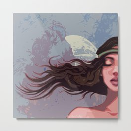 Liea (graphic edition)  Metal Print
