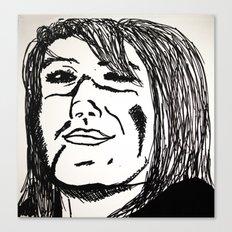 Smug  Canvas Print