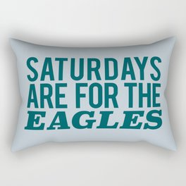 Saturdays are for the Eagles Rectangular Pillow