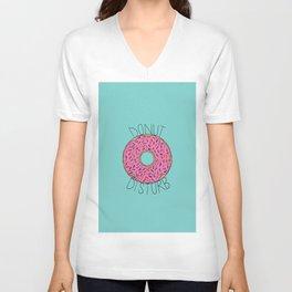 Donut Disturb Unisex V-Neck
