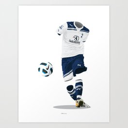 Tottenham Hotspur 2010/11 Art Print