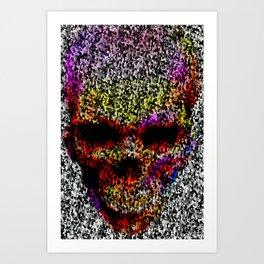 Skull 01220-1 Art Print