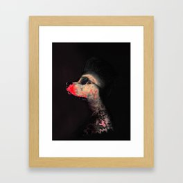 Street Dog Framed Art Print