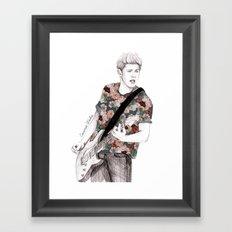Floral Niall Framed Art Print