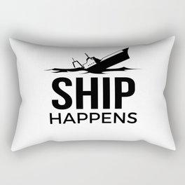 Ship Happens Rectangular Pillow