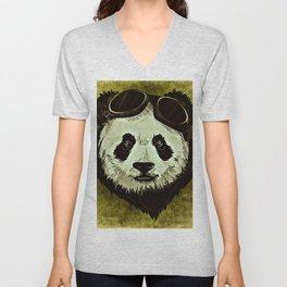 XIX Wild Panda Unisex V-Neck