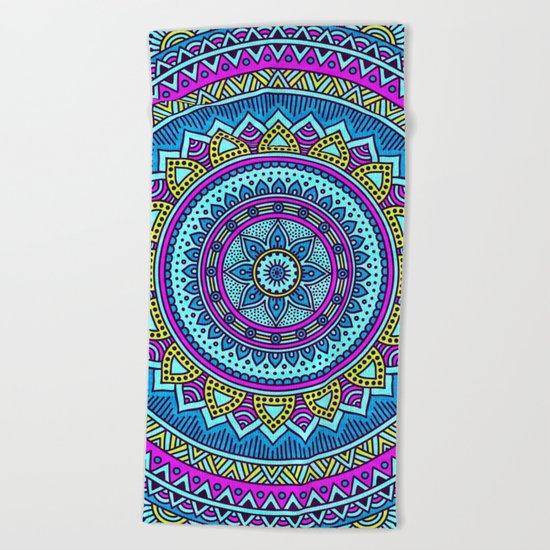 Hippie Mandala 20 Beach Towel