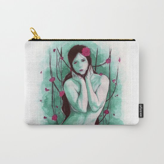 The Sad Lady Carry-All Pouch