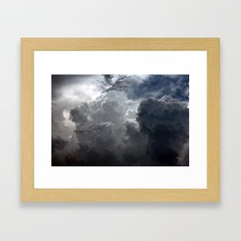 FIG. 6   CUMULONIMBUS Framed Art Print