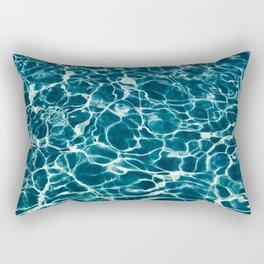 Calm Beach Rectangular Pillow