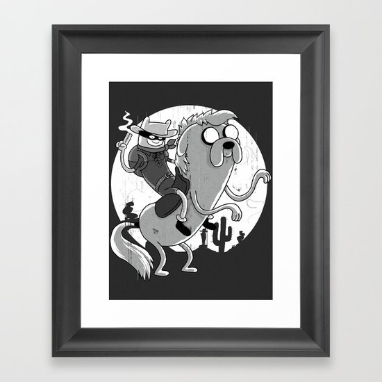 Lone Ranger Time! Framed Art Print