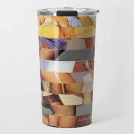 Glitch Pin-Up Redux: Isabella Travel Mug