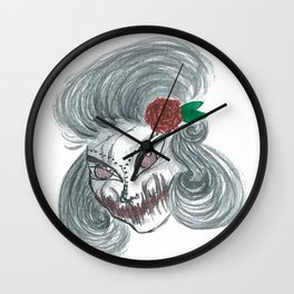 Deadly beautiful Wall Clock