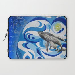 cosmic whale Laptop Sleeve