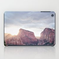 utah iPad Cases featuring Zion- Utah by Photography by COCO