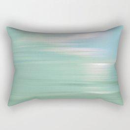 Peaceful Light Rectangular Pillow