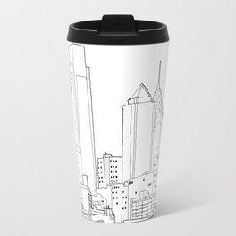 Philly Blueprint BW Travel Mug