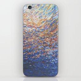 Illuminated Ocean Waves at Sunset iPhone Skin
