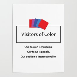 Visitors of Color Poster