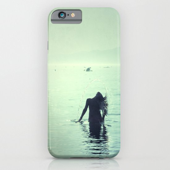 Happy summer vintage. Playing with the water iPhone & iPod Case