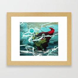 It's Hamma Time Framed Art Print