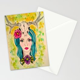 Goddess of The Sacred Wood s Stationery Cards