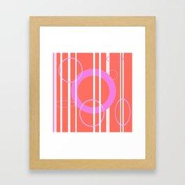 Circles & Lines Oh My! Framed Art Print