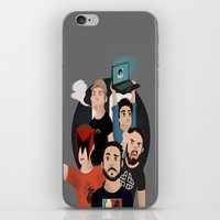 gaming iPhone & iPod Skins featuring Inside Gaming by Kaguesna