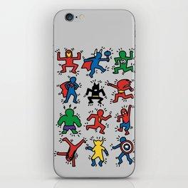 Keith Superheroes iPhone Skin