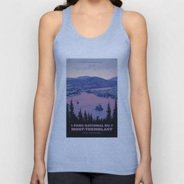 Parc National du Mont-Tremblant Unisex Tank Top