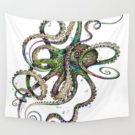 Octopsychedelia Wall Tapestry