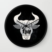 coven Wall Clocks featuring Coven by Edwoody